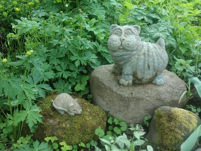 Скульптурки для сада