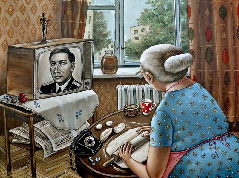 AngelaJerich13 Путешествие в СССР: картины художницы Анжелы Джерих