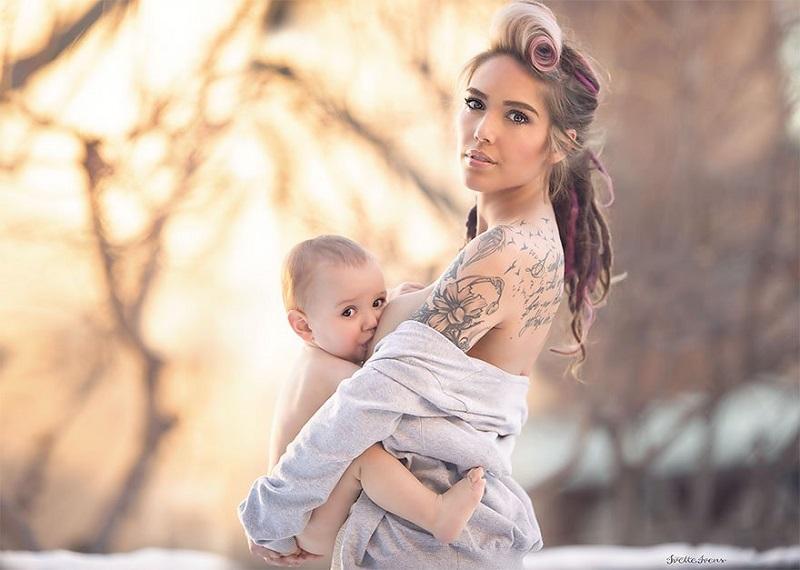 15 волшебных снимков кормящих матерей. Фото, от которых веет чистотой