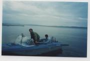 Аренда лодки на Пяозеро