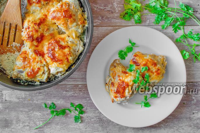 Куриные бедра в сметане рецепт с пошагово