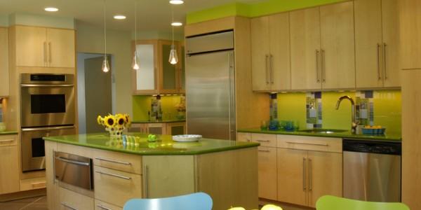 зеленые кухни-11