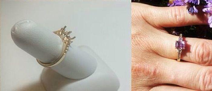 Самодельное кольцо для любимой девушки (6 фото)
