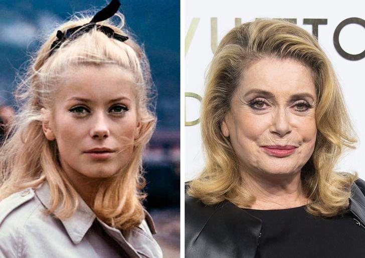 Как изменились 25 французских актеров со времен своих первых ролей