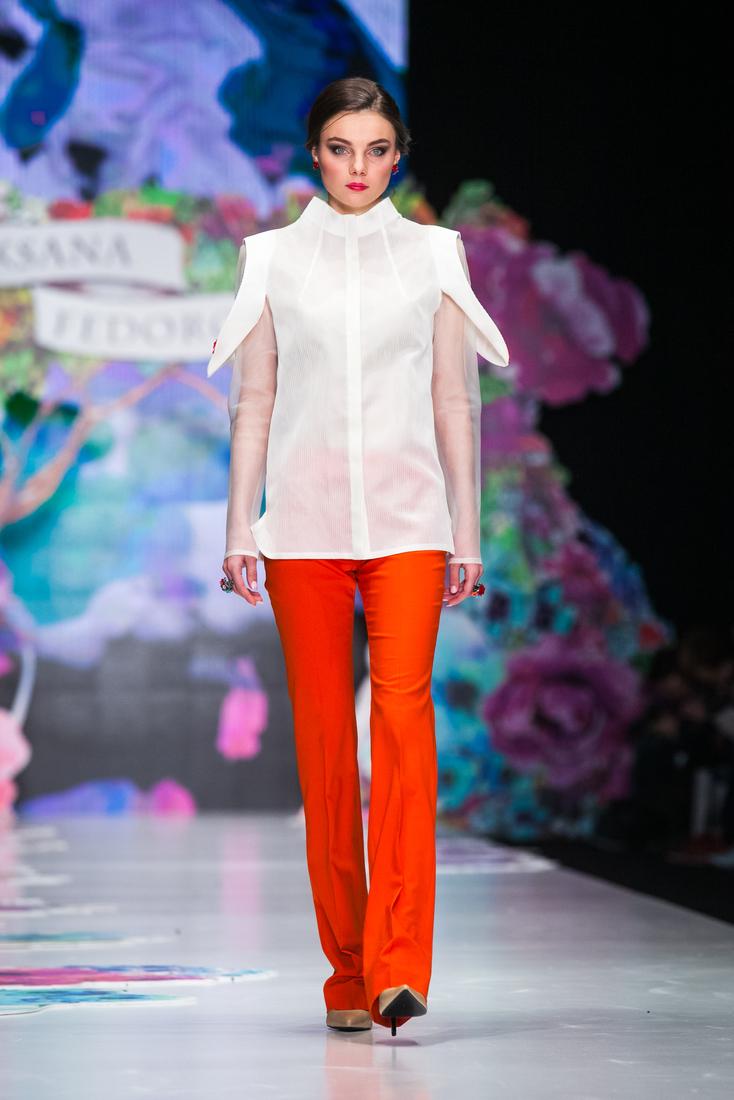 Fashion-романтика на показе Оксаны Федоровой