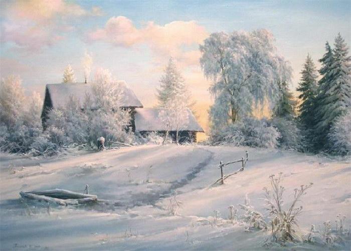 Ностальгия по даче: картины Вячеслава Палачева