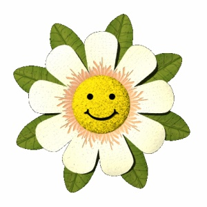 Animated gifs : Smiling flowers