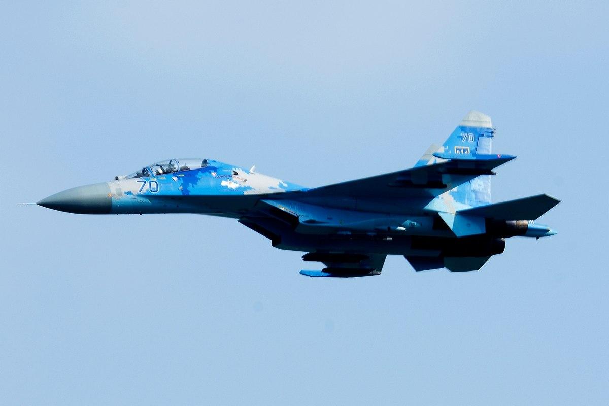 На Украине разбился самолет Су-27УБ с американским летчиком