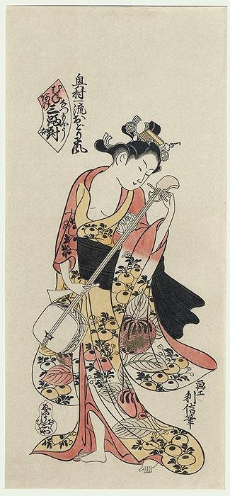 история древней японской музыки любую партию регламентируется