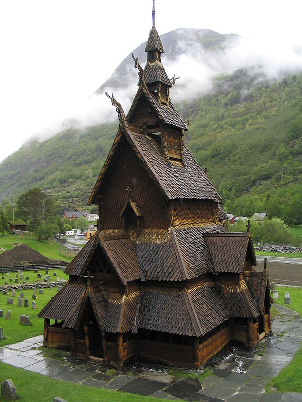 25 примеров сказочной архитектуры Норвегии