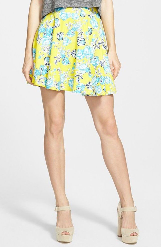 Модные юбки-солнце весна-лето