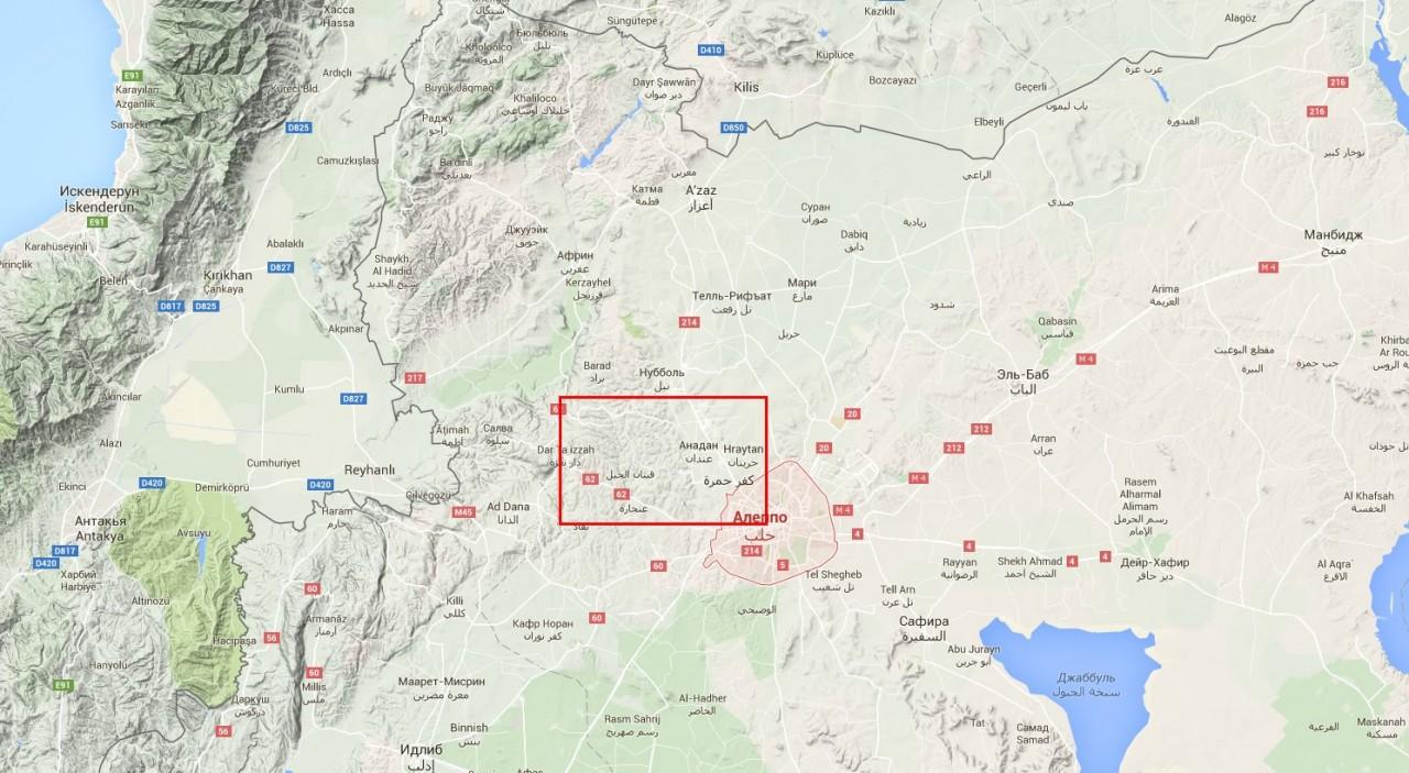 ВАЖНО: Армия Сирии заняла турецкие укрепления в районе падения Су-24. ИГИЛ отрезан от поставок оружия