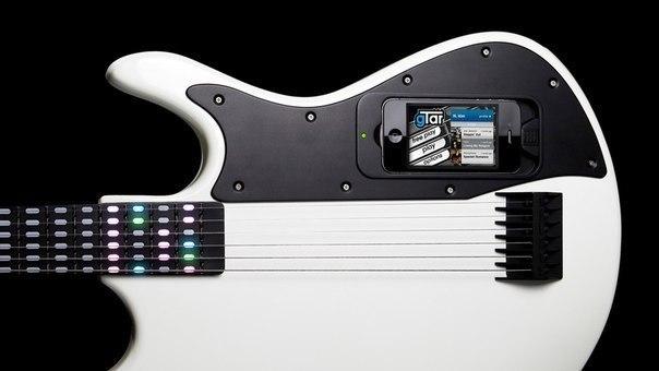 Интерактивная обучающая гитара