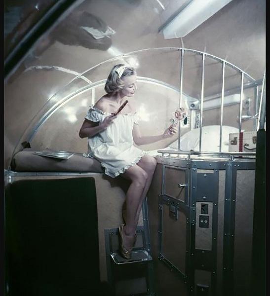 Рекламная кампания 1957 года для Air France
