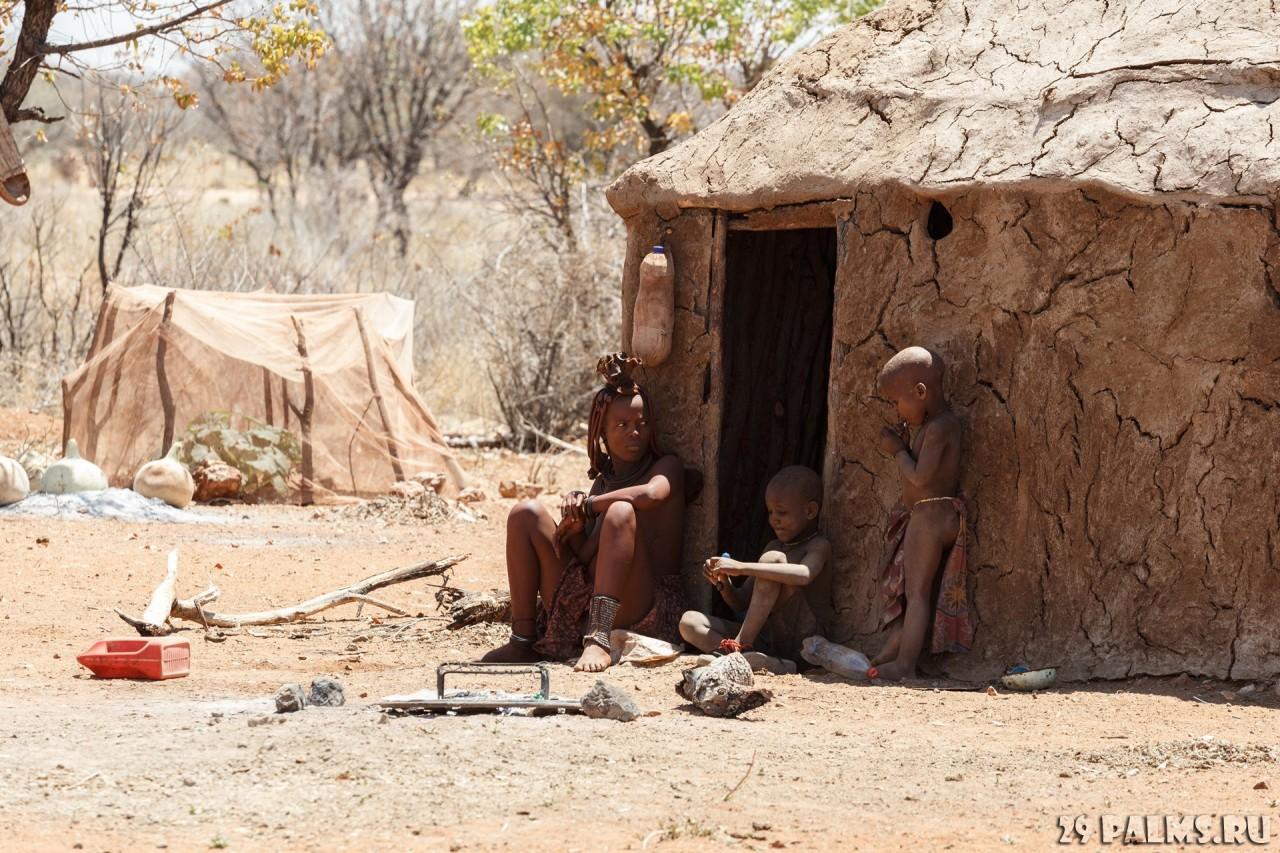 Намибия. Племя химба