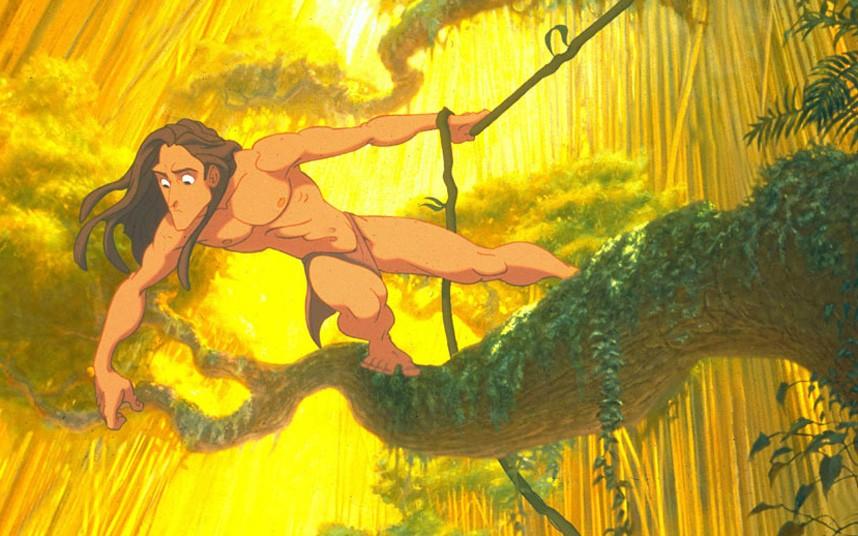 Тарзан в фотографиях