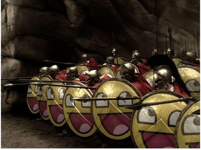 1. Спартанцы древний мир, спецназ