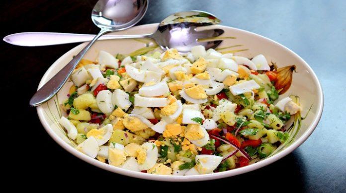 Обалденный турецкий картофельный салат