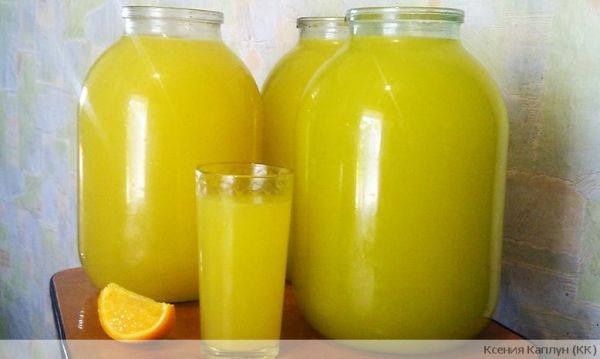 Из 4 апельсинов - 9 литров сока!