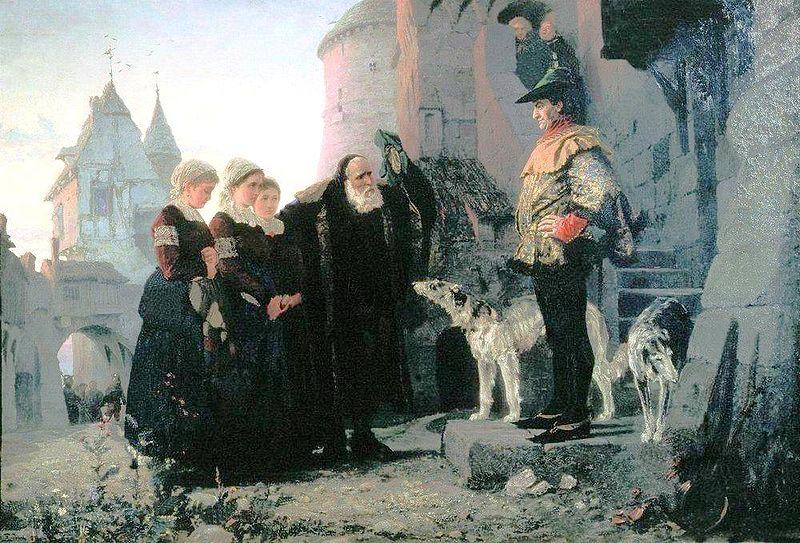 Принудительный секс барина с крепостными женщинами в древней руси