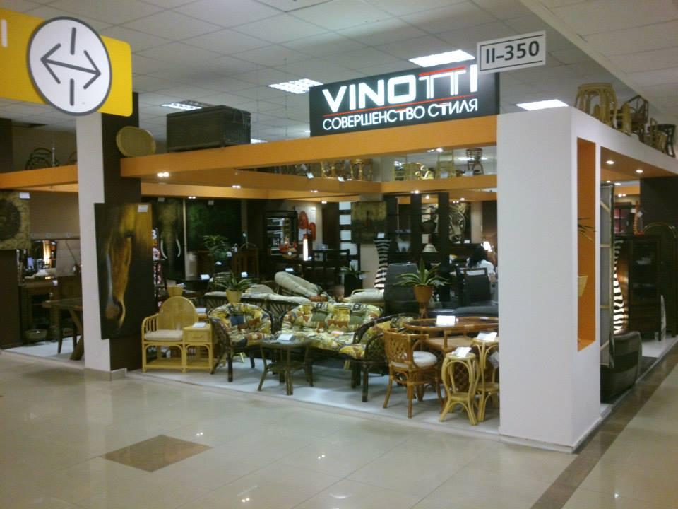 Видео-панорама мебели в магазине