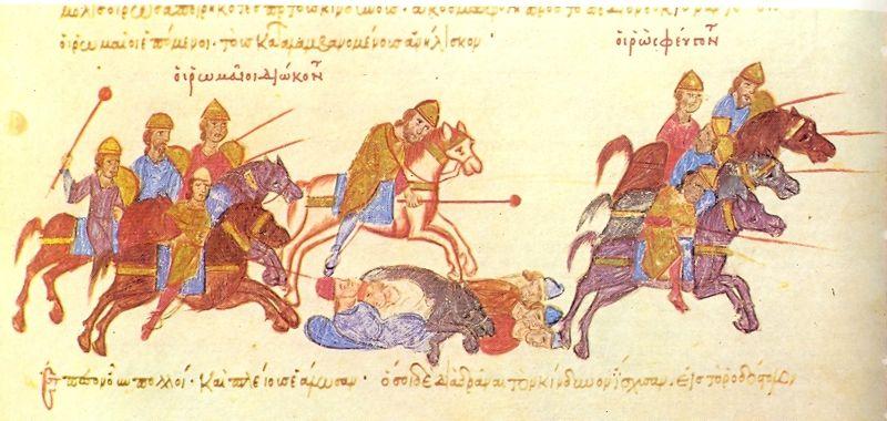 Как славяне язычники убивали христиан
