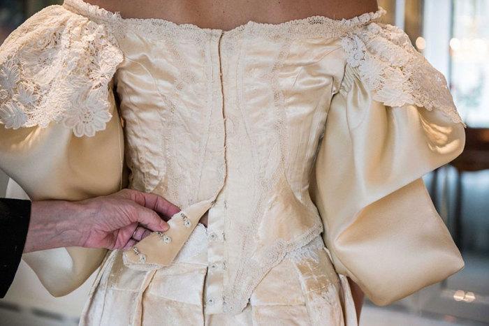 Свадебное платье, в котором на протяжении 120 лет выходят замуж женщины одного рода.