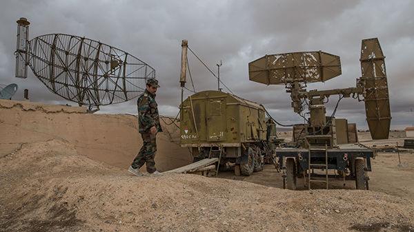 ПВО Сирии отразили атаку в районе аэропорта Дамаска