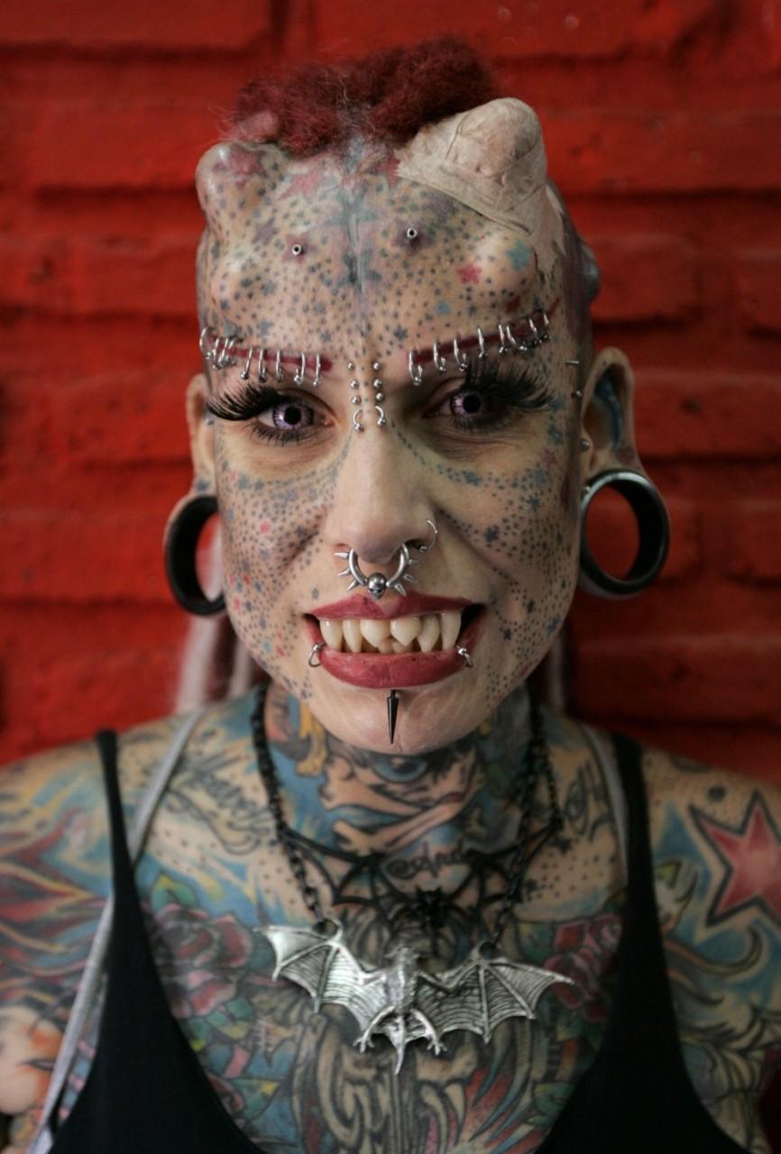 Мексиканская женщина-вампир
