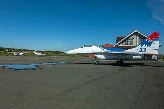 МиГ-29 в полях Татарстана: к…