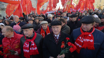 В Пензе трех коммунистов оштрафовали за возложение цветов к памятнику Ленину