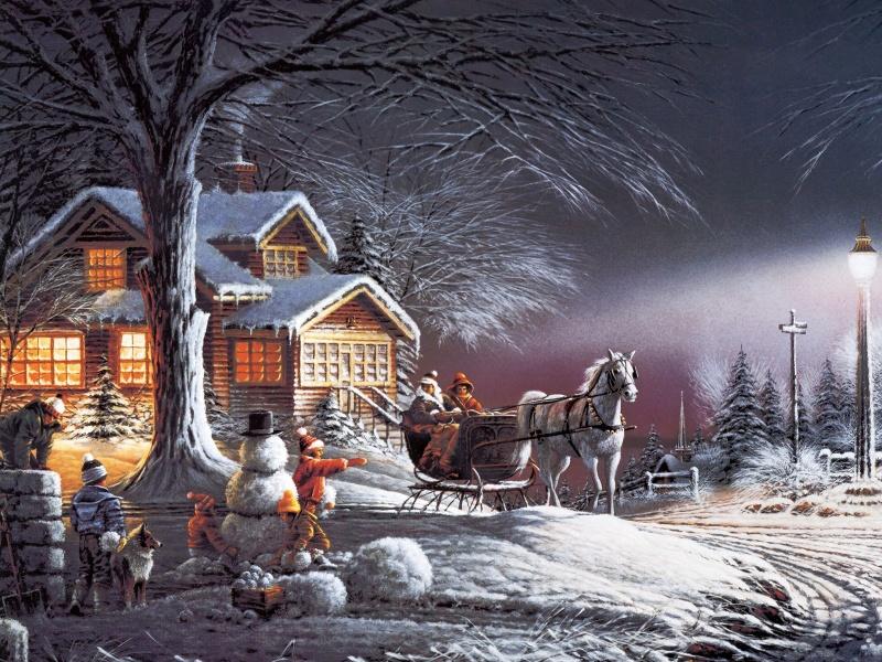 5 художников, очарованных зимой