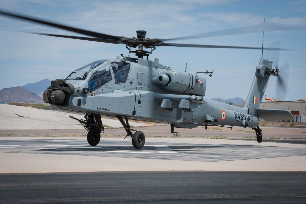 Первые вертолеты АН-64Е Apache и CH-47F(I) Chinook для Индии