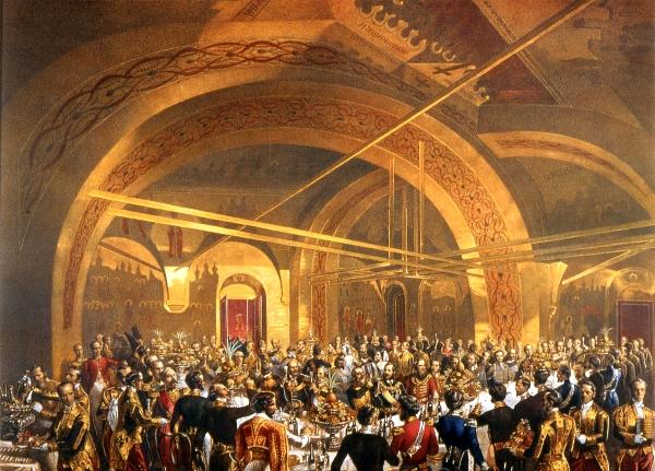 Как в Кремлевском дворце проходили праздничные приемы русских цариц