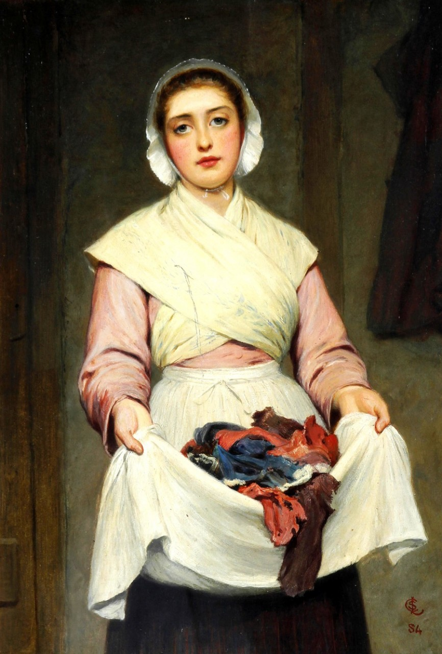 Обитель женской красоты в работах Чарльза  Силлема  Лиддердейла