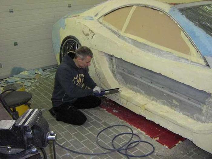 Обшивка пола автомобиля своими руками
