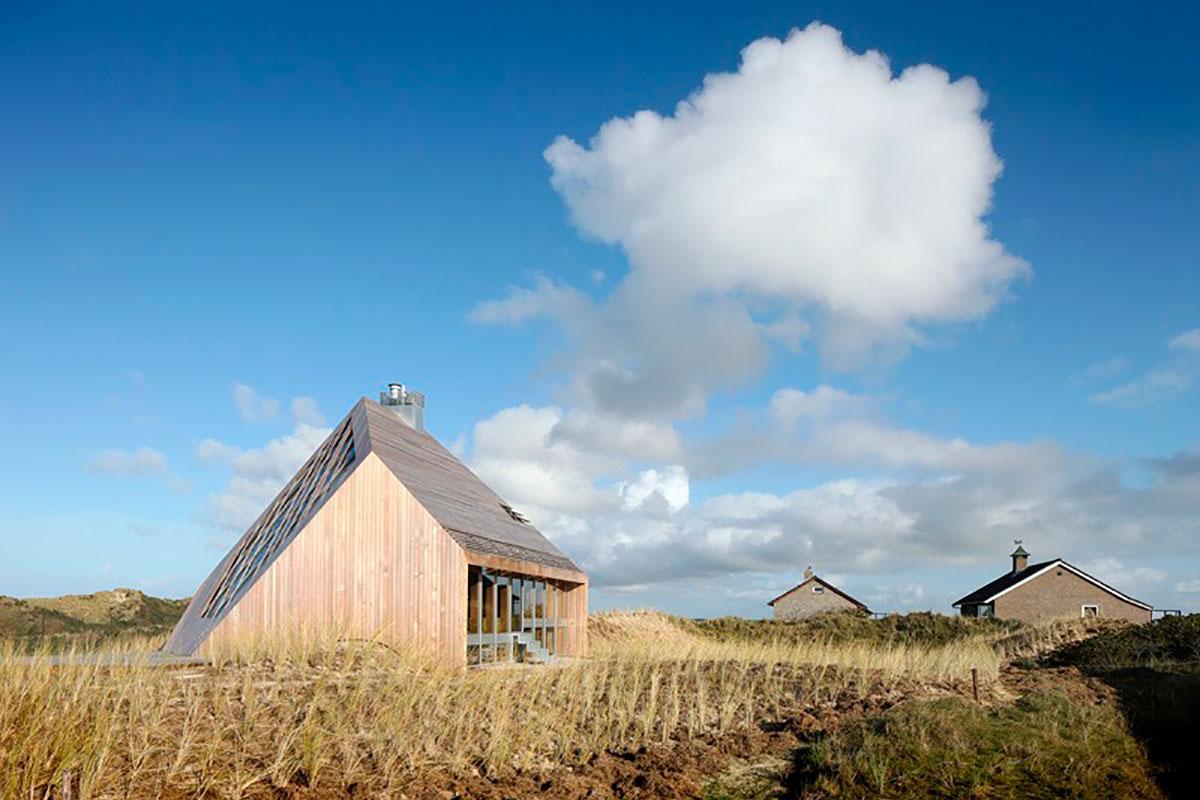 Современный загородный дом в Голландии