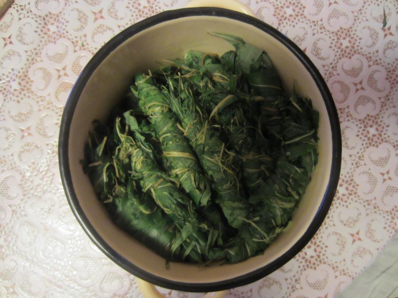 Колбаски иван-чая