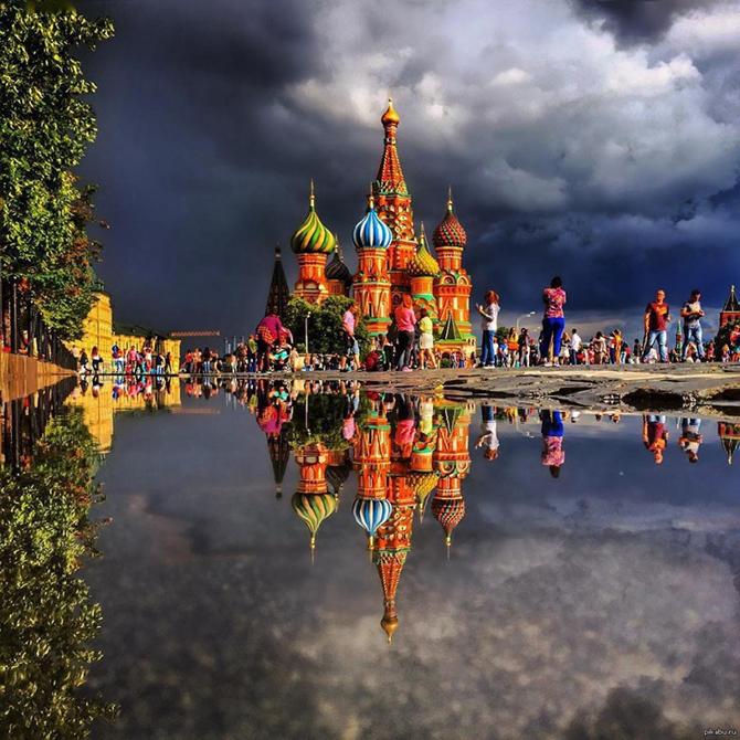 16 умопомрачительных фотографий без грамма фотошопа. Кто еще видел собор в таком потрясающем ракурсе?