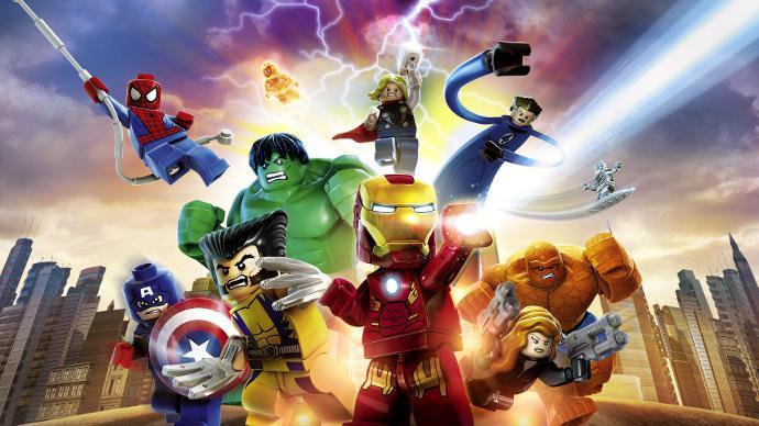 Приключения диснеевских героев в стиле лего - отличная забава для детей