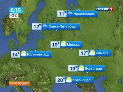 На этой неделе в Москву придёт аномальное тепло