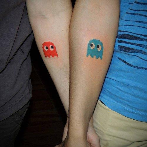 Парные татуировки для гиков …