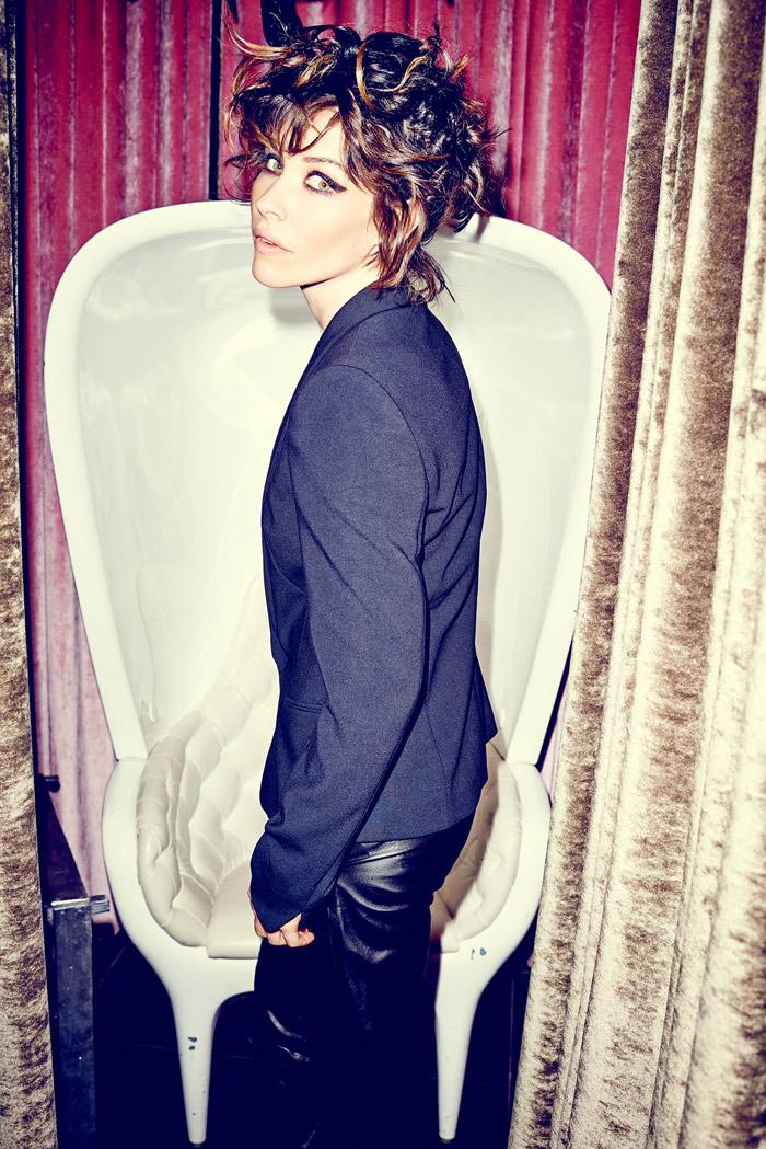 Эванджелин Лилли  в фотосессии Эрика Рэя Дэвидсона  для журнала DuJour (январь 2014)