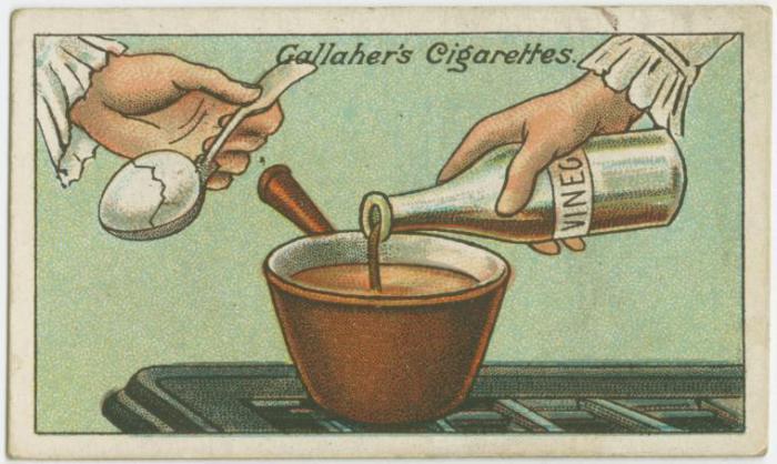 Как сварить треснувшие яйца.