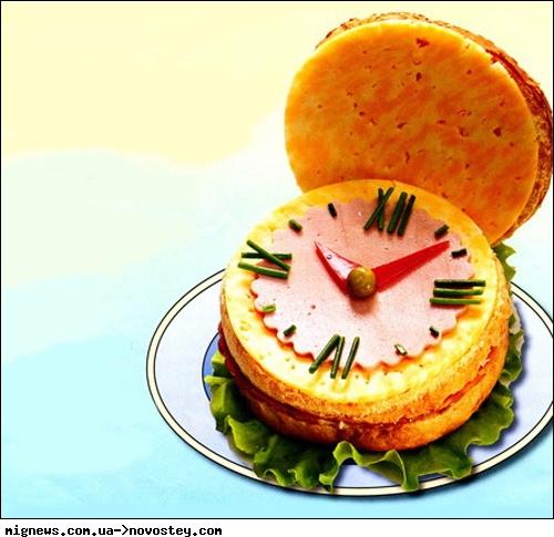 Оформление бутербродов.