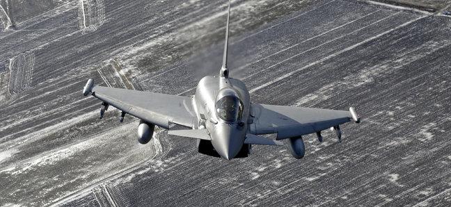 На базе НАТО в Эстонии у немецкого истребителя отвалился топливный бак