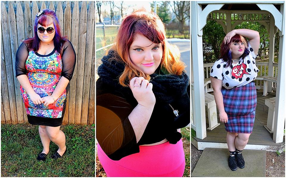111 Модные блогеры толстушки призывают любить свое тело и быть в тренде.