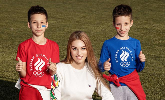 Жены и дети российских футболистов снялись в лукбуке ZASPORT