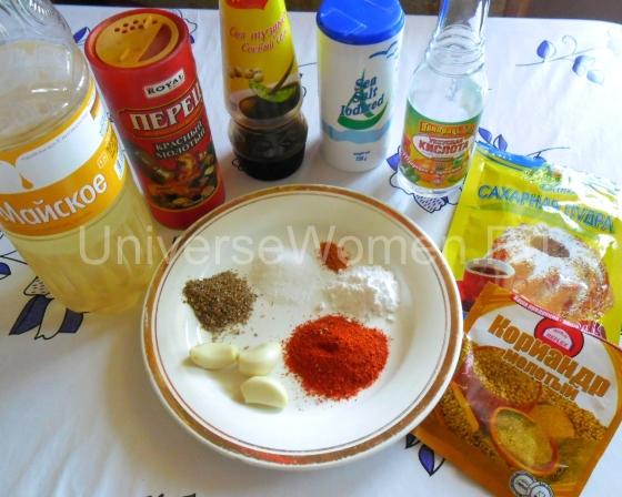 Камбала в маринаде запеченная в духовке (рецепт с фото)
