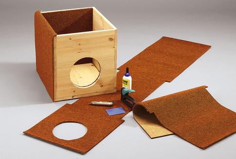 Сделать домик из коробки своими руками пошагово